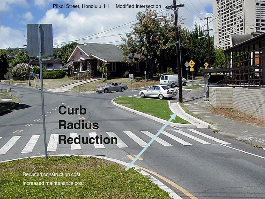 Piikoi Street, Honolulu, HI     Modified Intersection