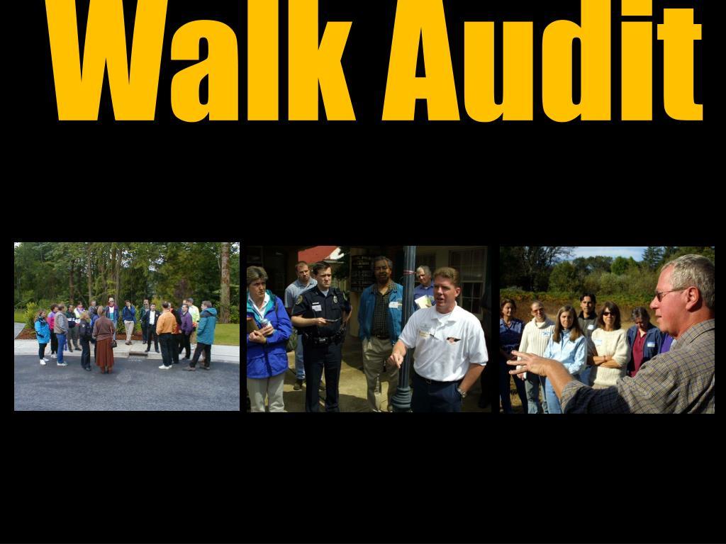 Walk Audit