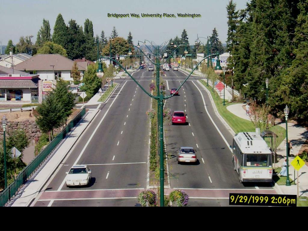 Bridgeport Way, University Place, Washington