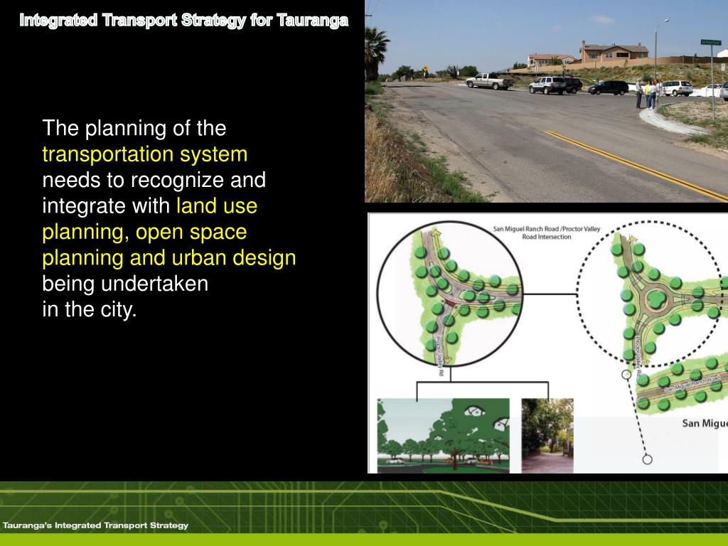 Integrated Transport Strategy for Tauranga