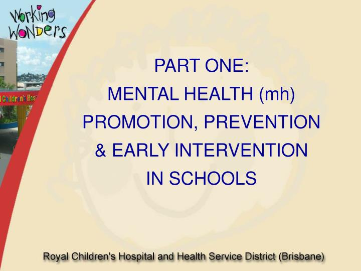 Ppt School Based Preventative Early Intervention Strategies For