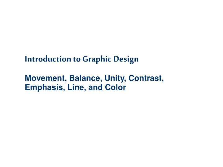 introduction to graphic design n.