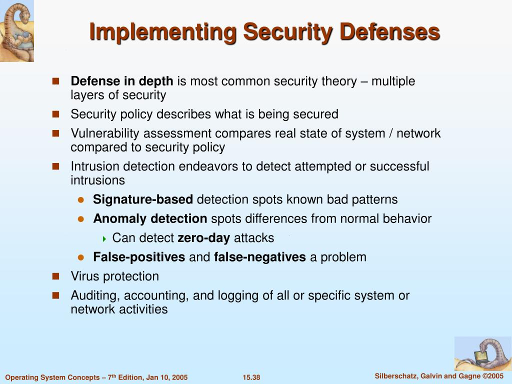 Implementing Security Defenses
