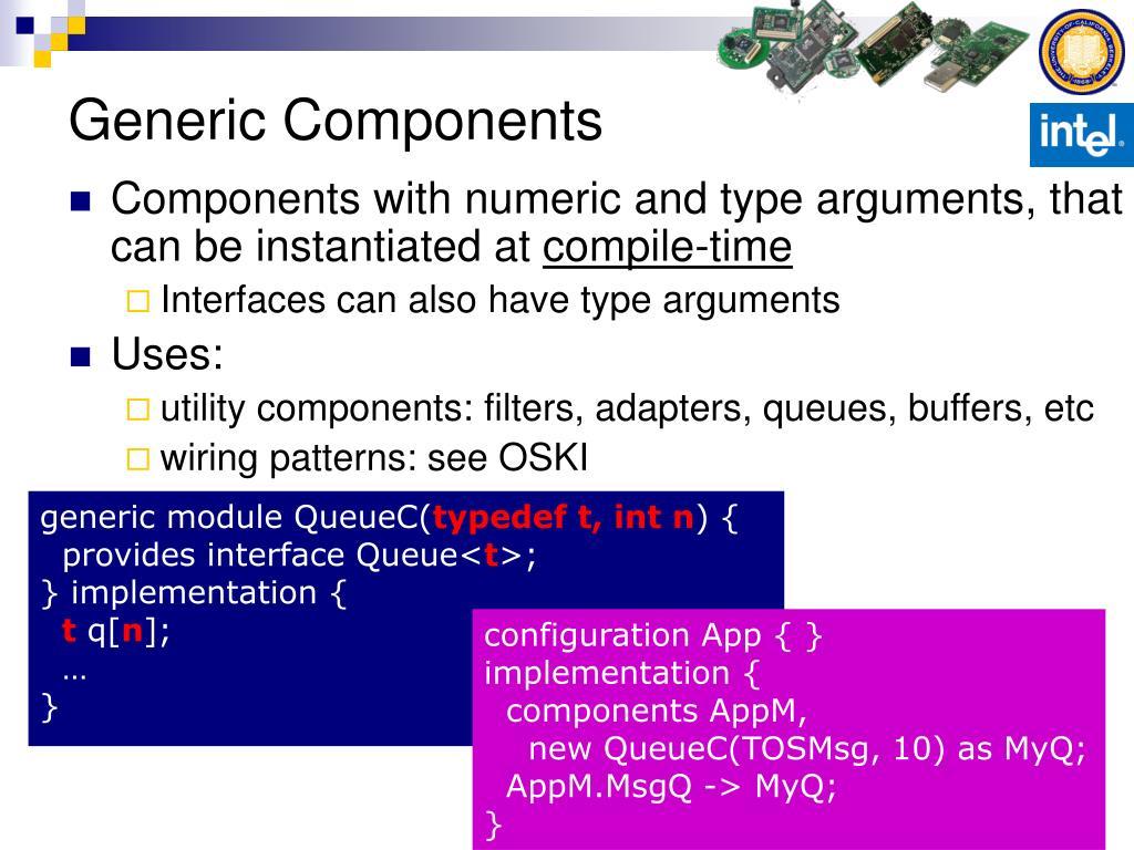 Generic Components