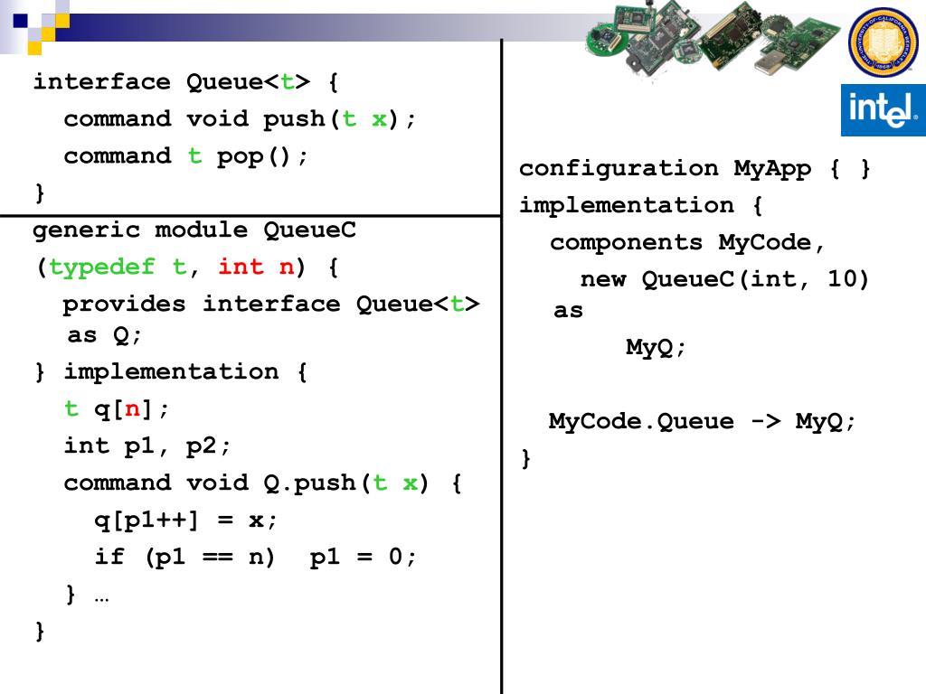 configuration MyApp { }