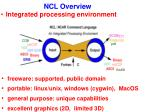 integrated processing environment