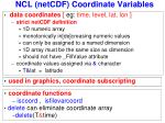 ncl netcdf coordinate variables