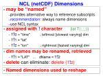 ncl netcdf dimensions