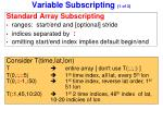 variable subscripting 1 of 3