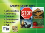graphic design uses