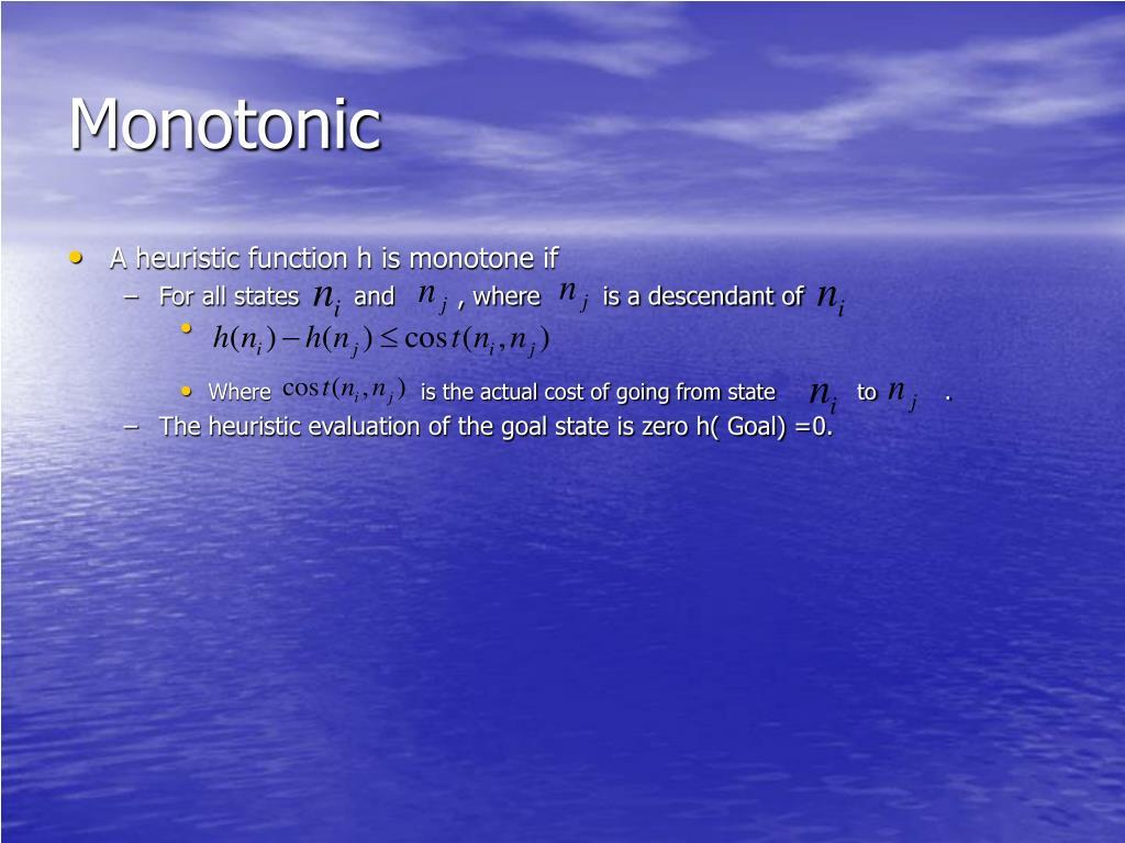 Monotonic