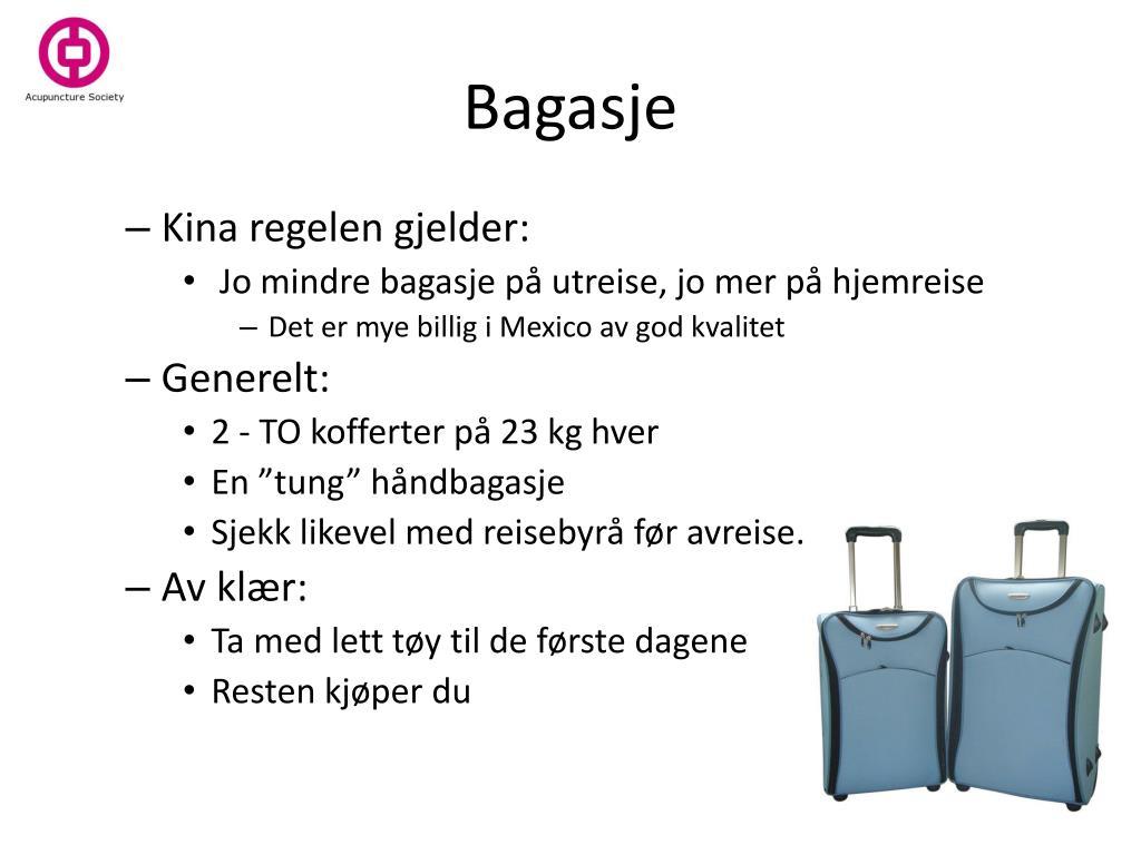 Bagasje