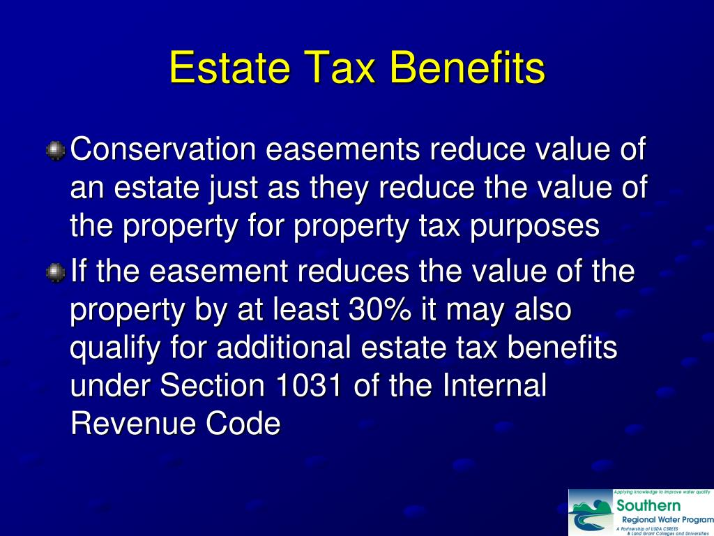 Estate Tax Benefits
