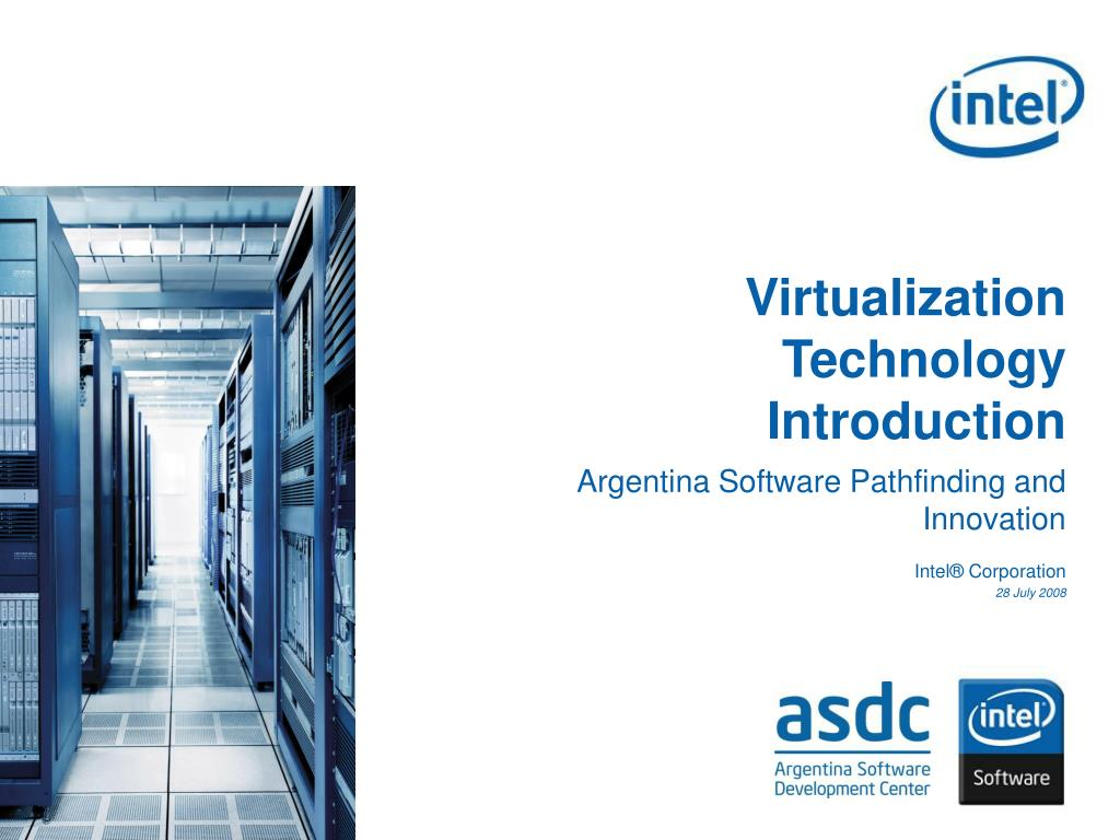 virtualization technology introduction l.
