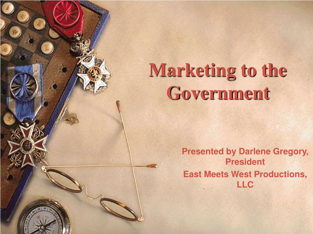marketing to the government l.
