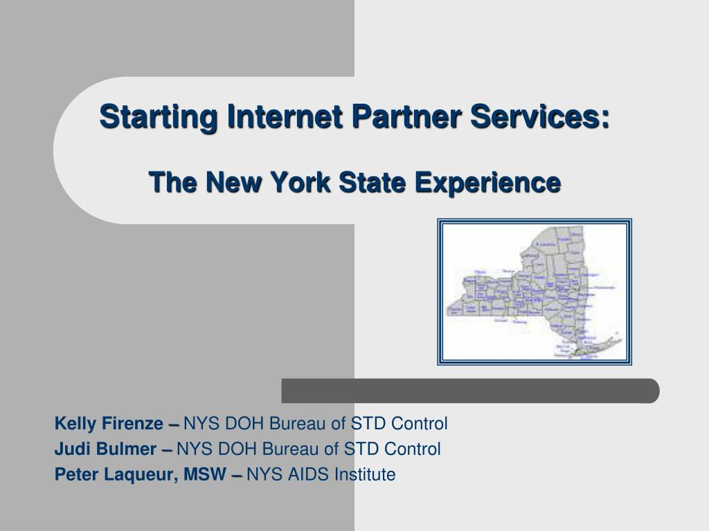 starting internet partner services the new york state experience l.