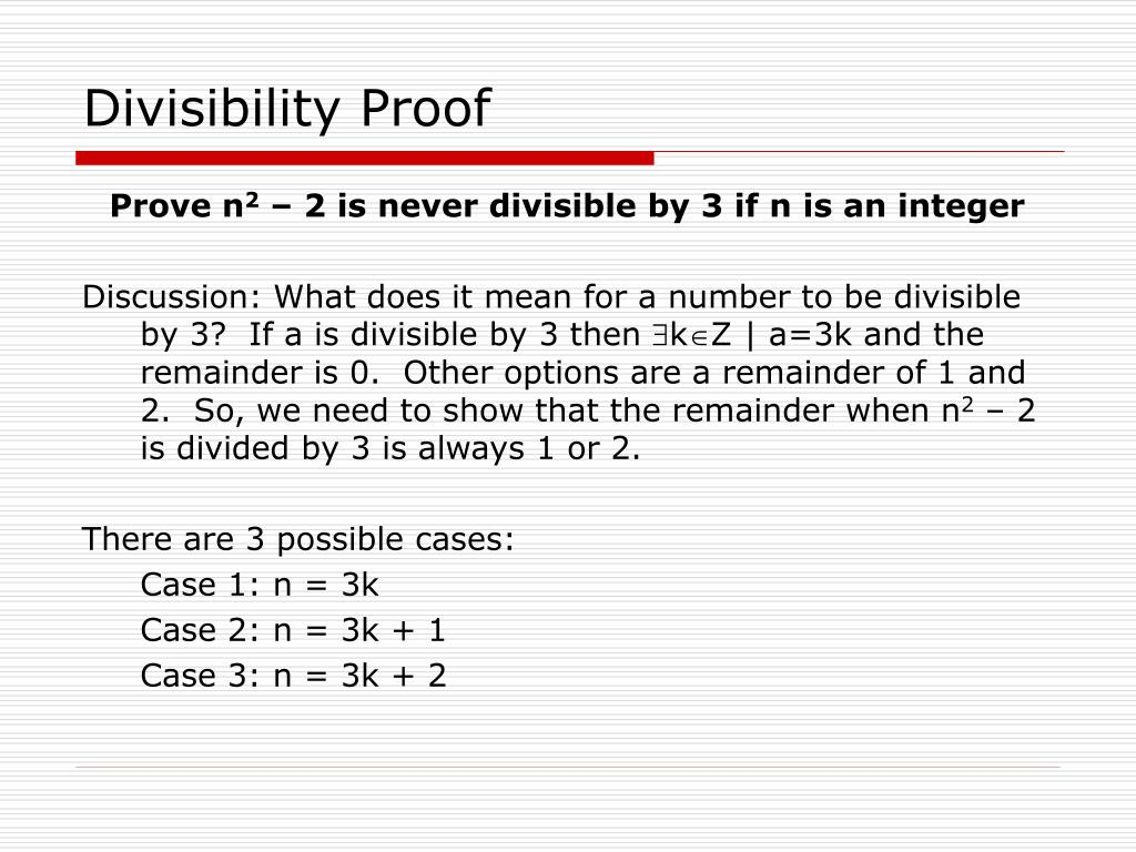 Divisibility Proof