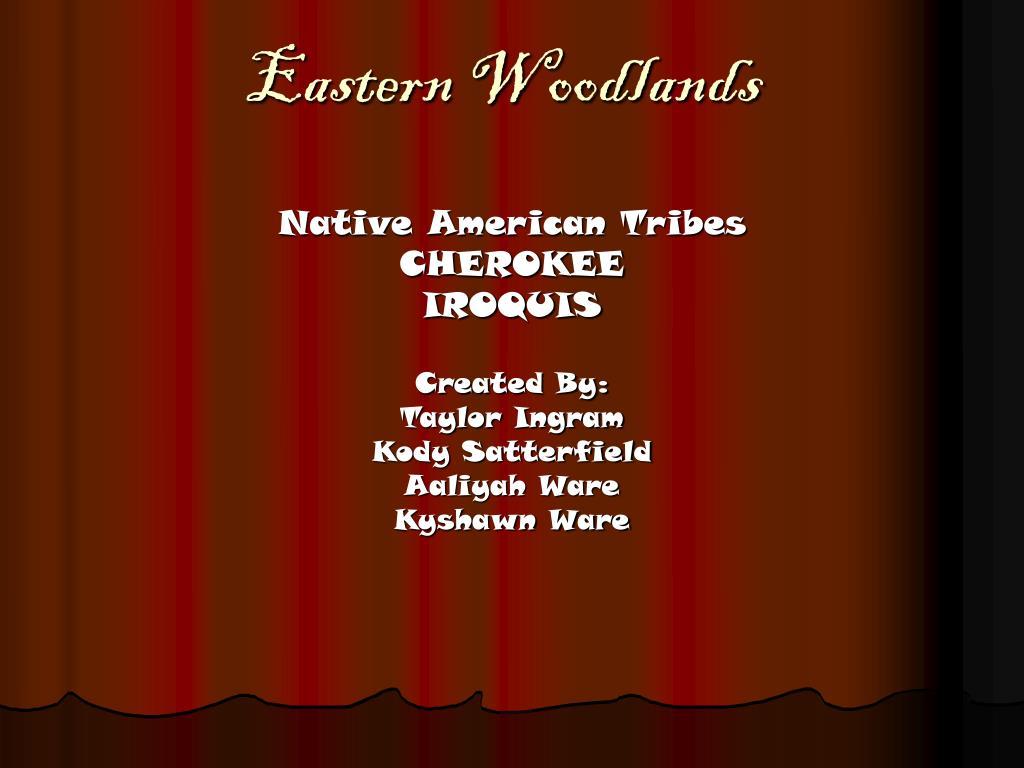 eastern woodlands l.