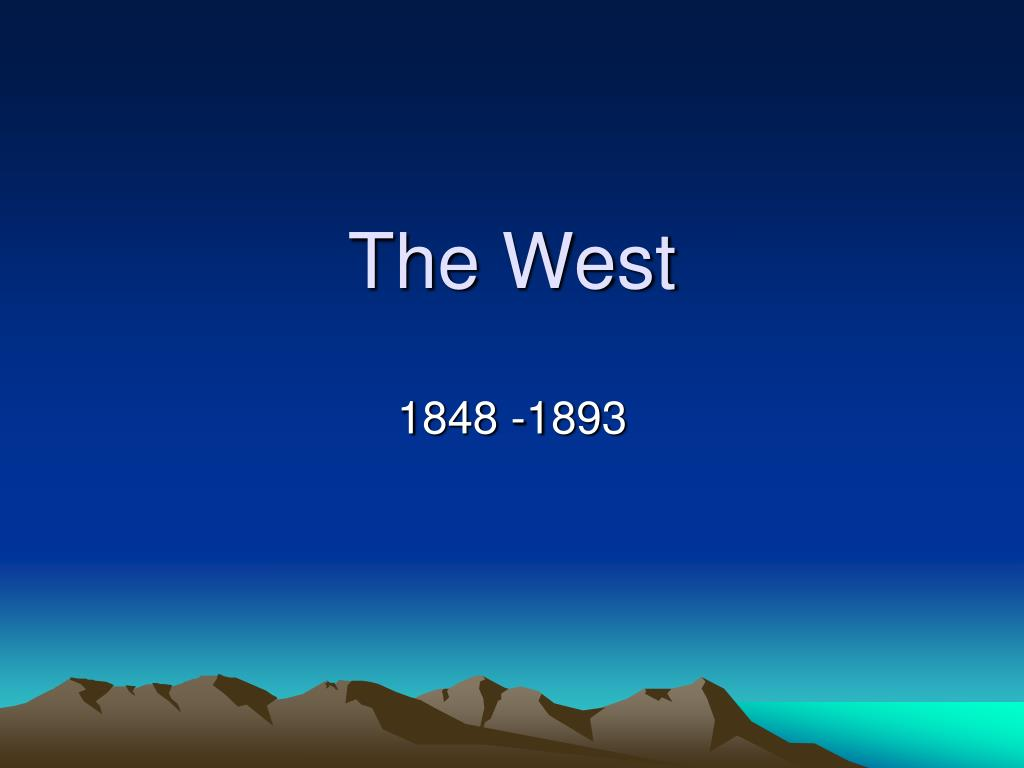 the west l.