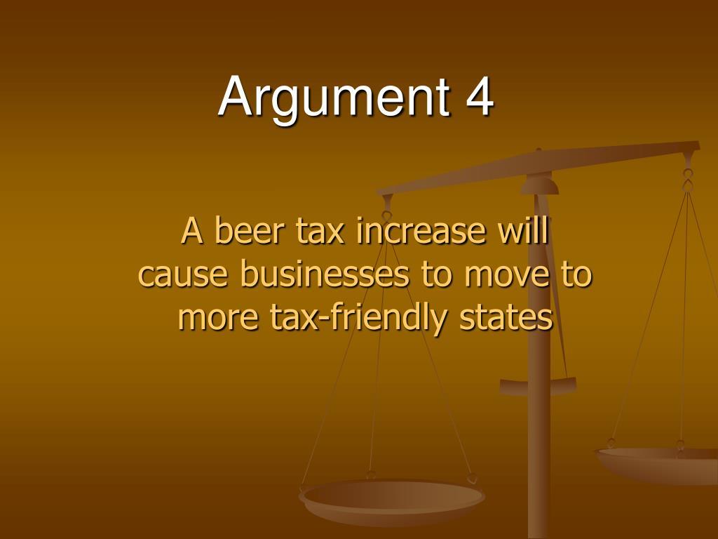 Argument 4