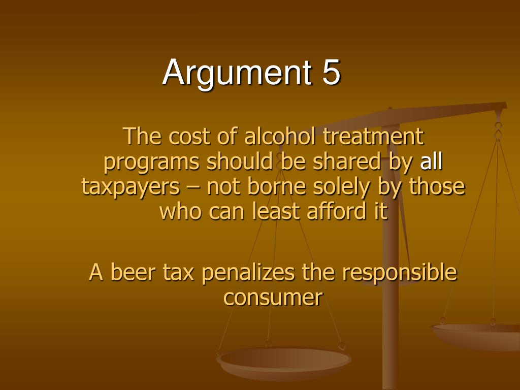 Argument 5
