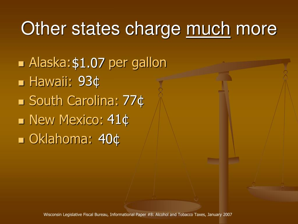 Other states charge
