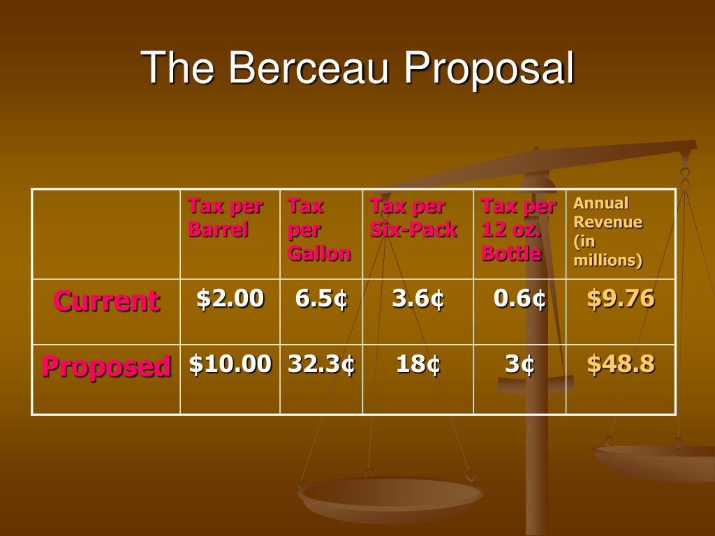 The Berceau Proposal