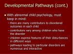 developmental pathways cont15