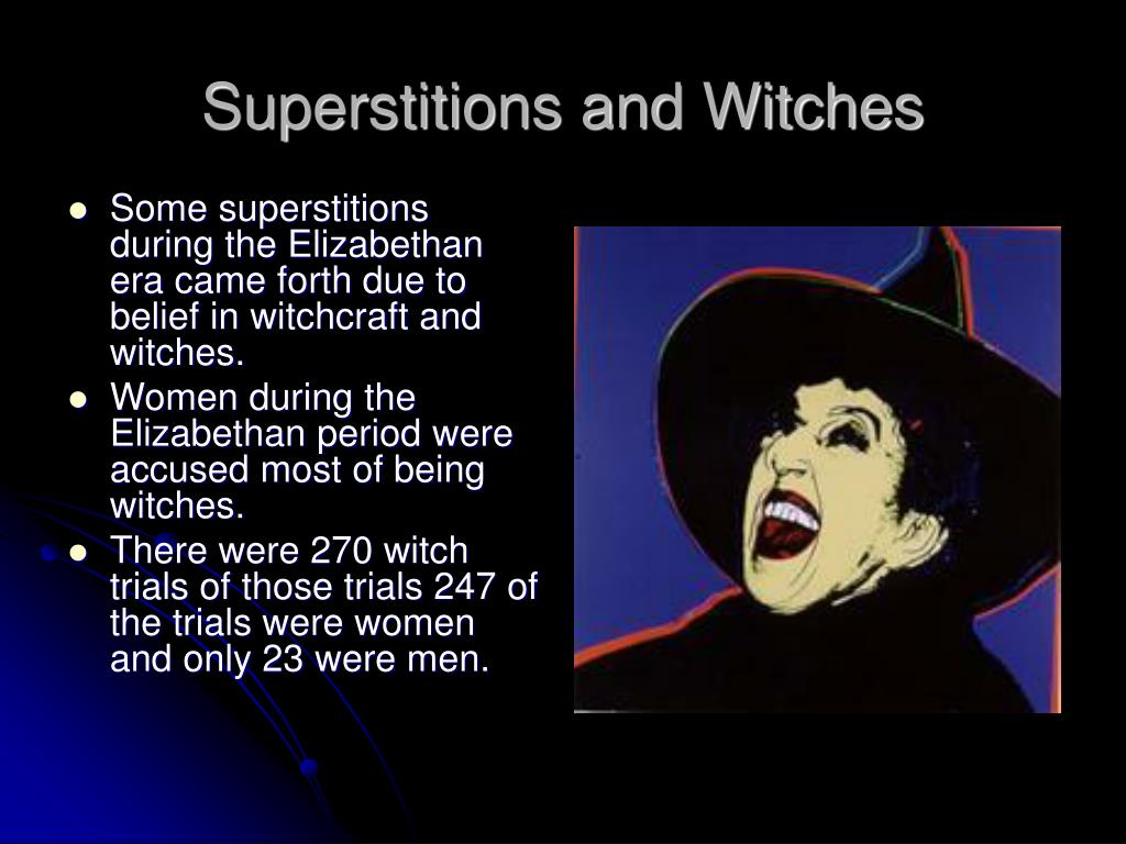elizabethan era witches and witchcraft essay