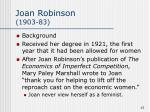 joan robinson 1903 83
