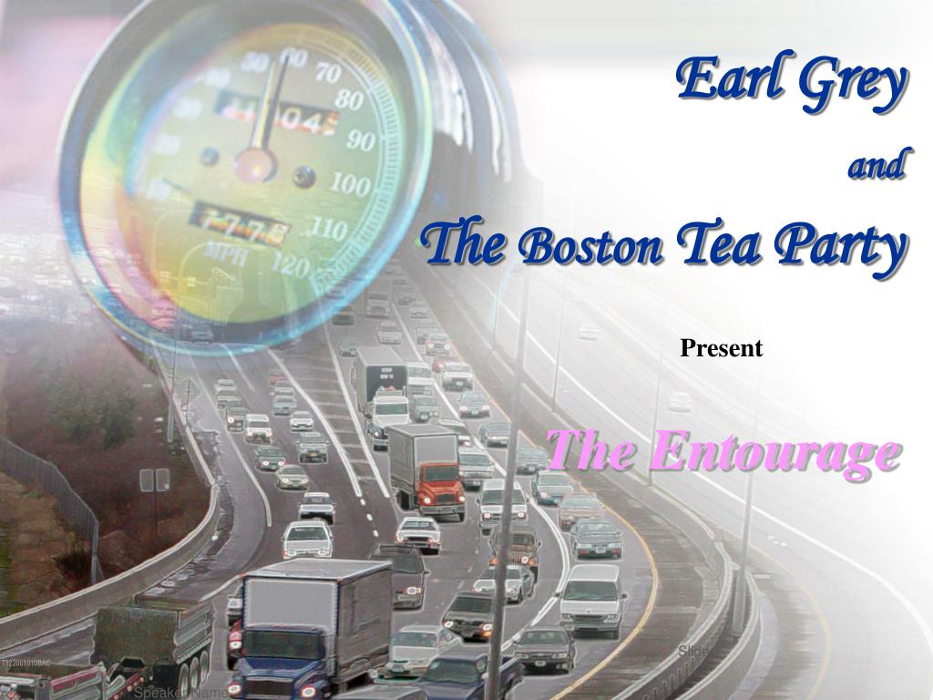 earl grey and the boston tea party l.