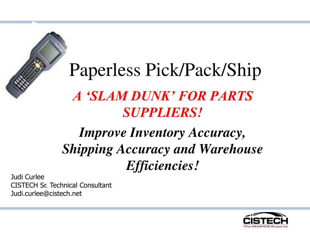 paperless pick pack ship l.