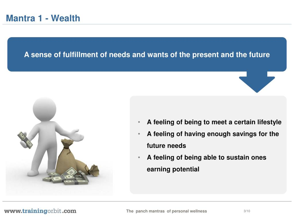 Mantra 1 - Wealth