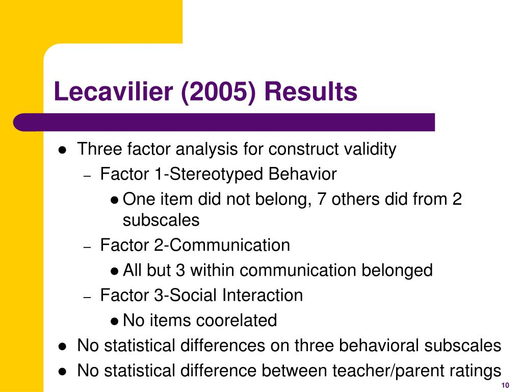 Lecavilier (2005) Results