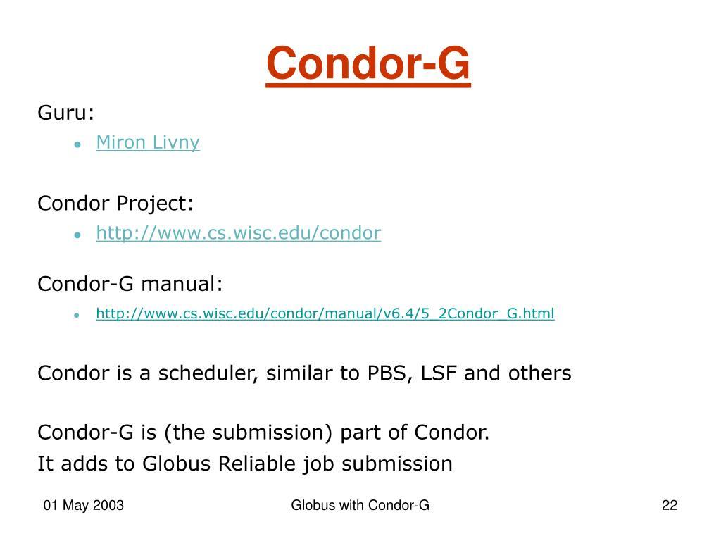 Condor-G
