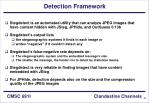 detection framework