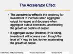 the accelerator effect