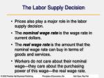 the labor supply decision2