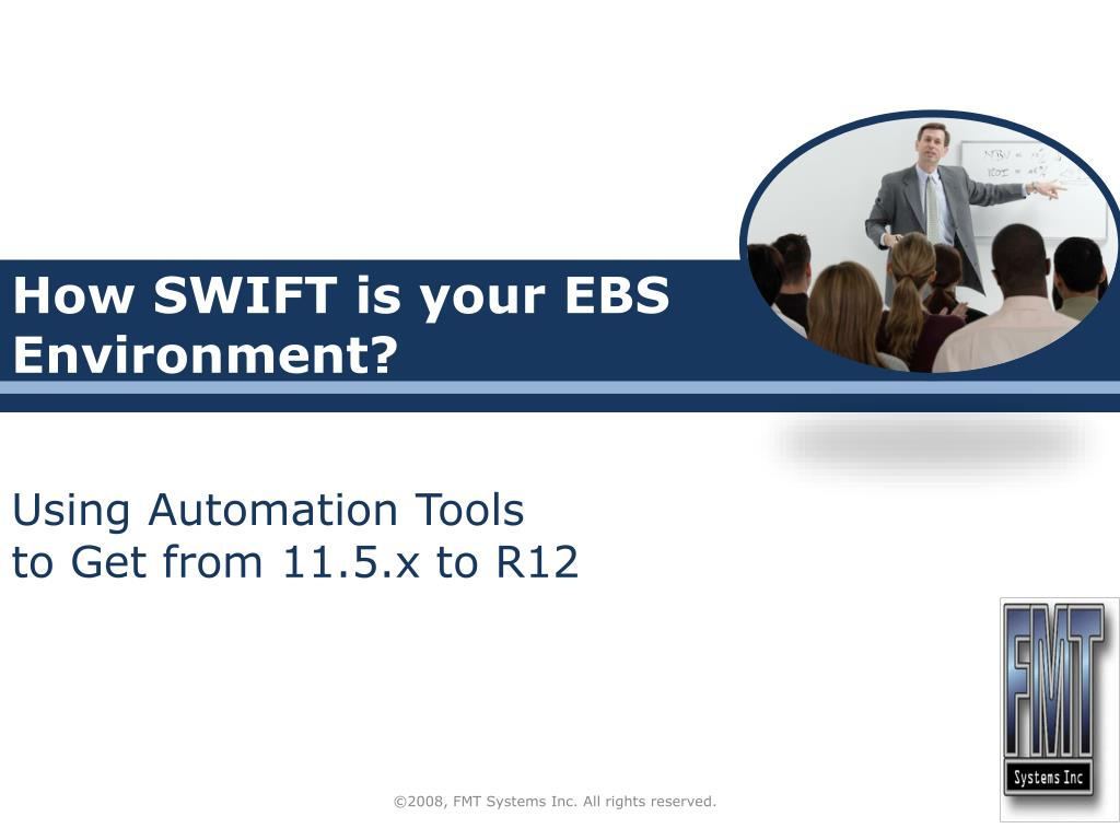 how swift is your ebs environment l.