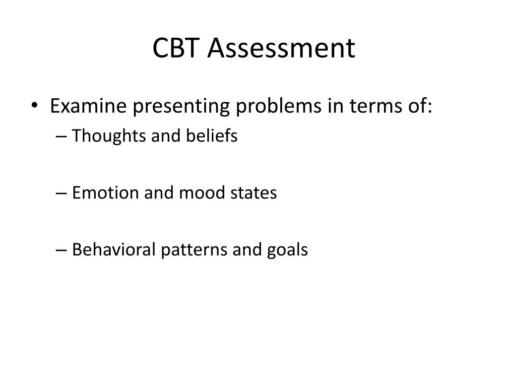 PPT - Cognitive-Behavioral Therapy for Psychosis PowerPoint