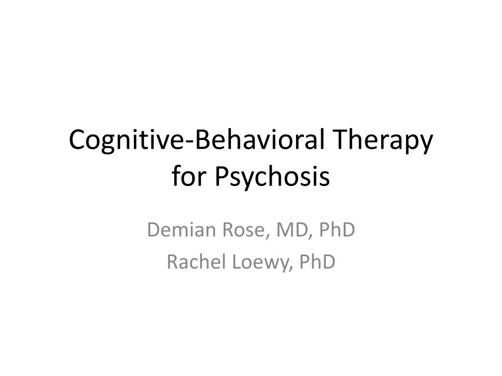 behavioral therapy outline Behaviour therapy is a broad term referring to clinical psychotherapy that uses techniques derived from behaviourismthose who practice behaviour therapy tend to look at specific, learned behaviours and how the environment influences those behaviours.