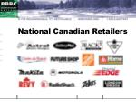 national canadian retailers