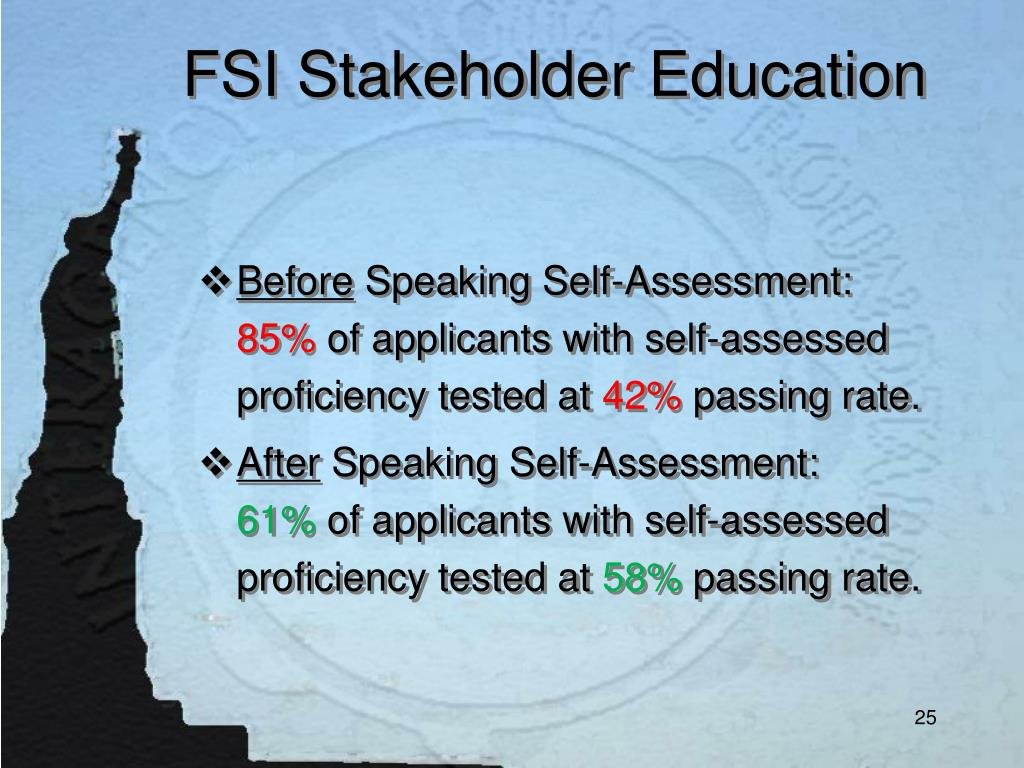 FSI Stakeholder Education