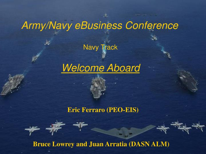 army navy ebusiness conference n.