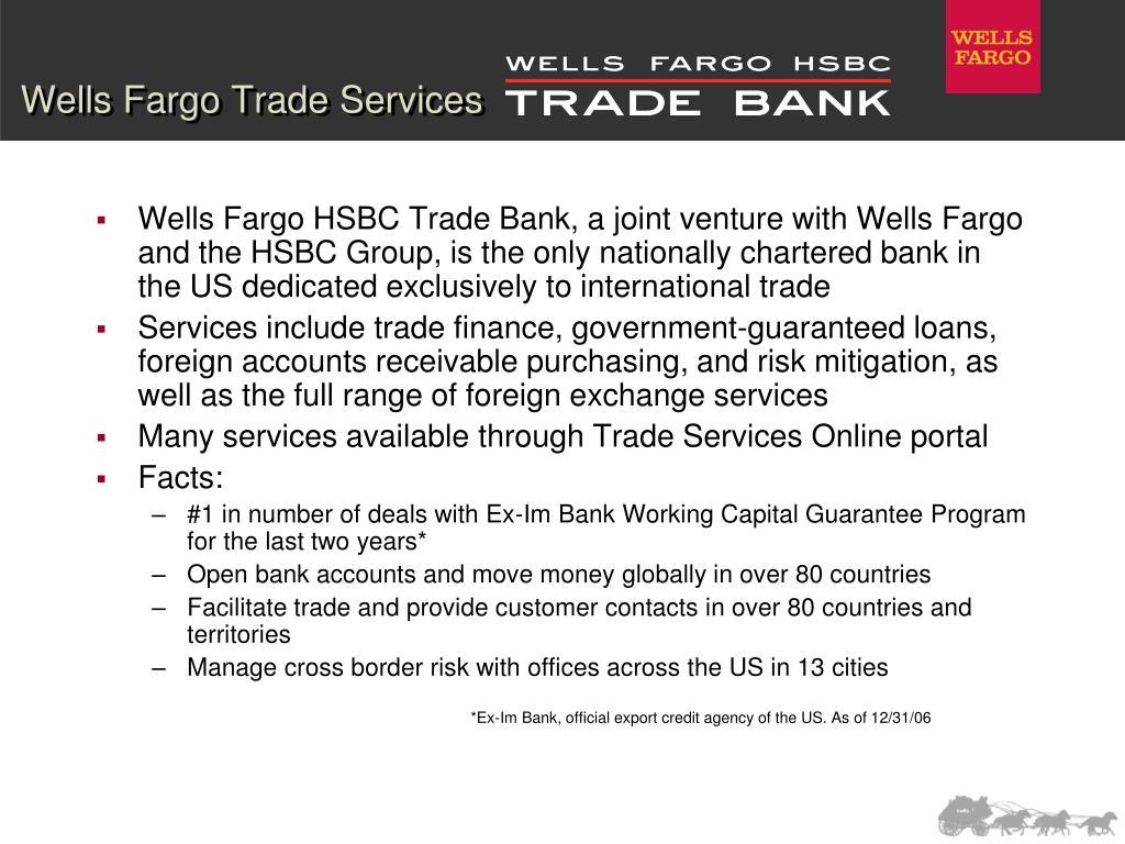 Wells Fargo Trade Services