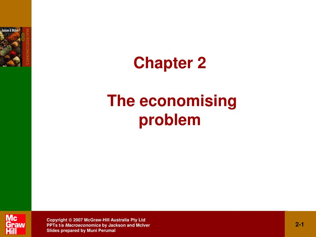chapter 2 the economising problem l.