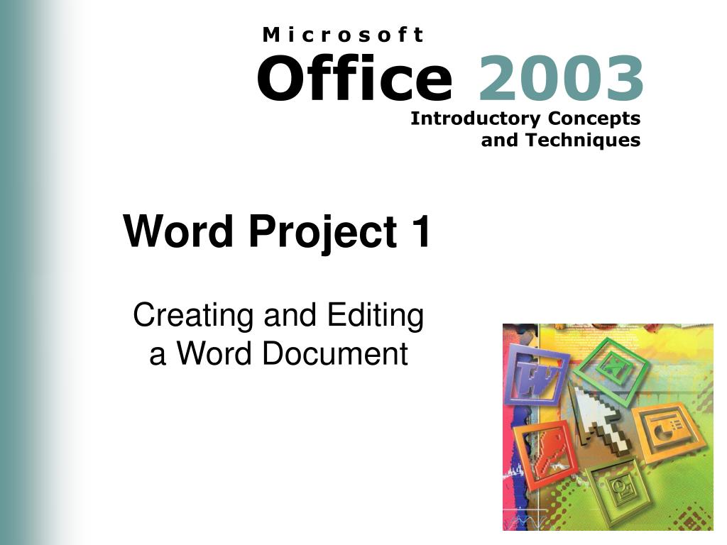 word project 1 l.