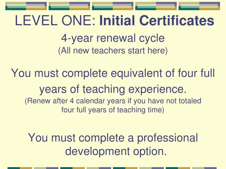 Renew Illinois Teaching Certificate Requirements - Best Design ...