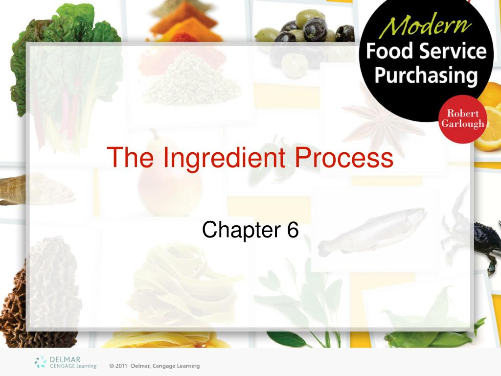 the ingredient process l.