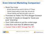 even internet marketing companies